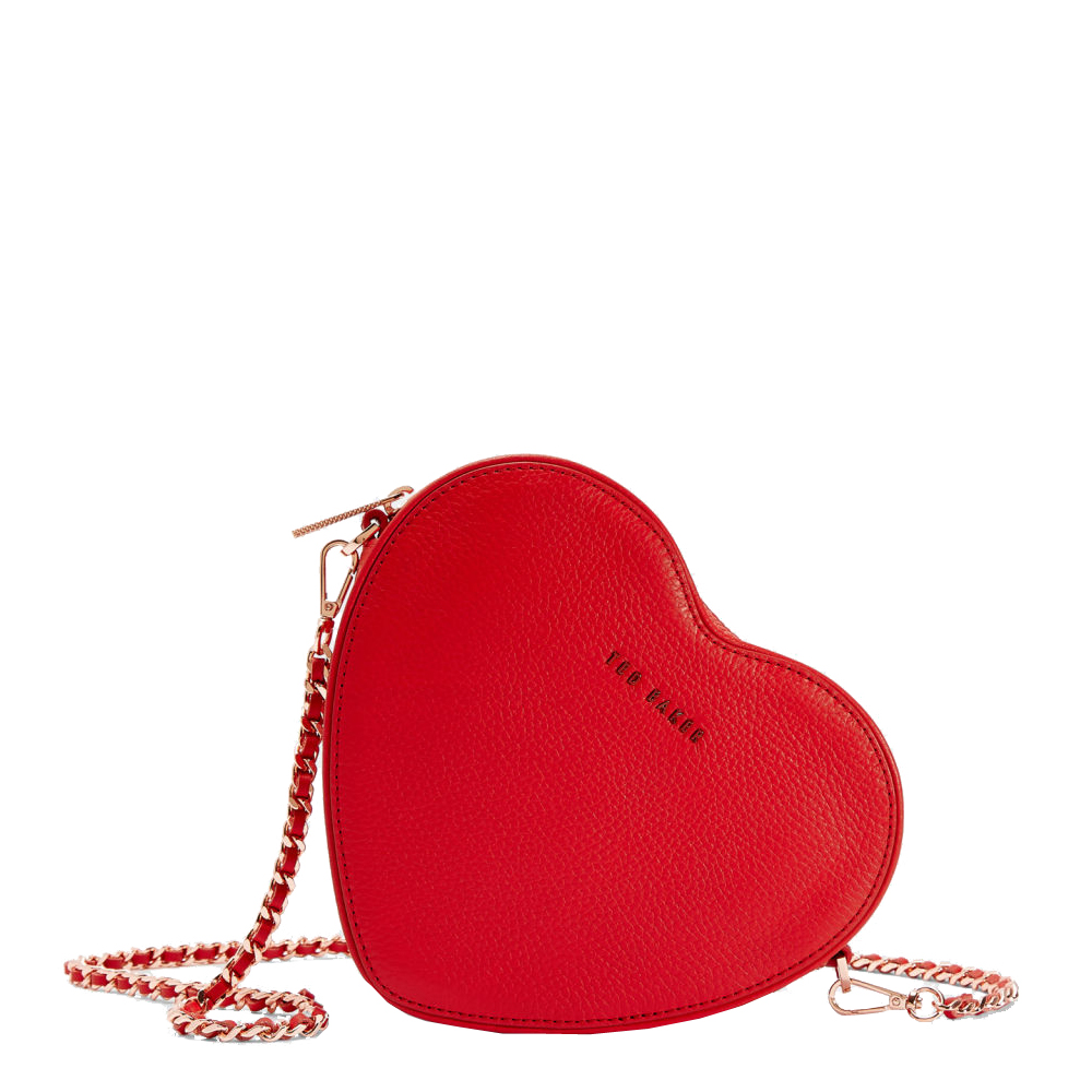 ced1c08c1 Ted Baker Amellie Heart Leather Cross Body Bag