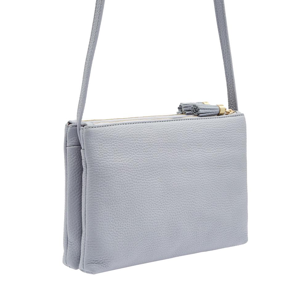 48730854430b Ted Baker Maceyy Tassel Leather Double Zip Cross Body Bag