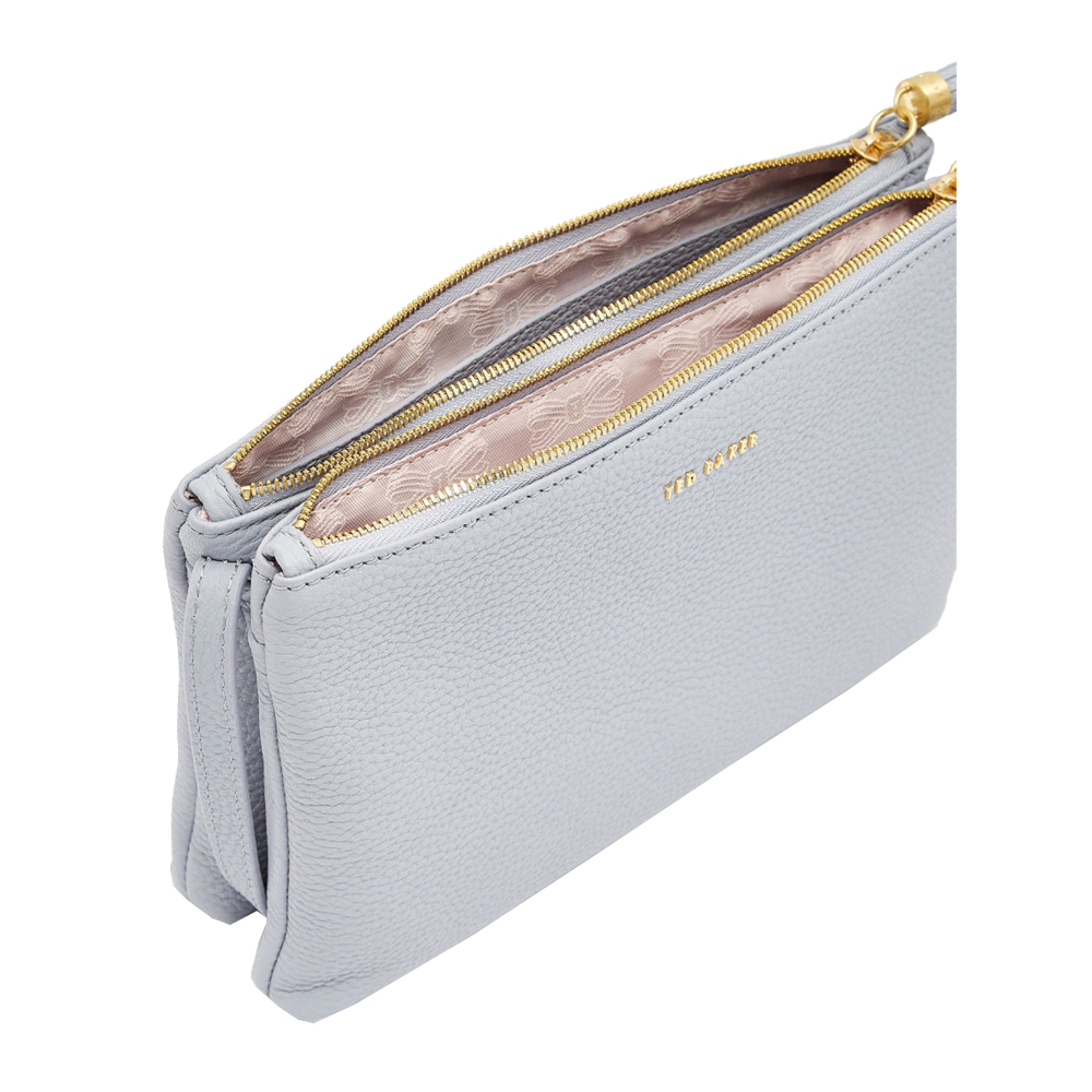 f993354754c Ted Baker Maceyy Tassel Leather Double Zip Cross Body Bag | Handbags ...