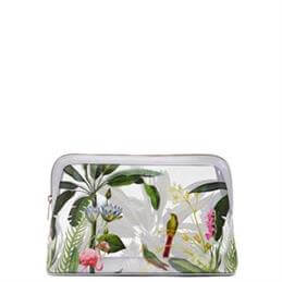 Ted Baker Mirella Pistachio Clear Wash Bag