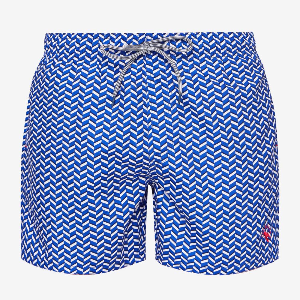 63ae7c1158 Ted Baker Caven Geo Print Swim Shorts | Swimwear | Swimwear ...