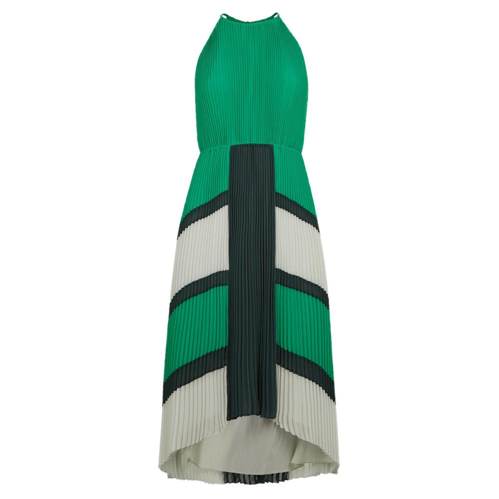9fbc9524e30 Ted Baker NELLINA Dip Hem Pleated Dress   Dresses   Dresses   Jarrolds  Norwich, Norfolk