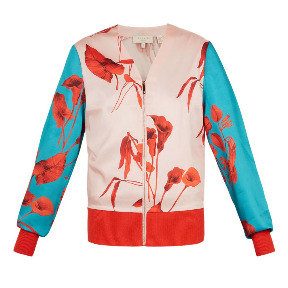 0af8ff9e8 Ted Baker CORTNEE Fantasia Knitted Bomber Jacket