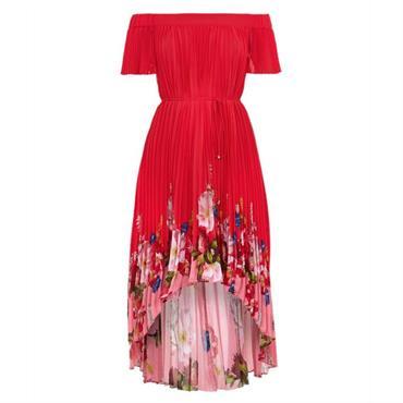 0e3eebe1105b Ted Baker GILLYY Berry Sundae Bardot Dress