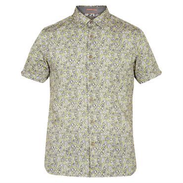 9762ebfd5274 ... Ted Baker BUFFILO Cotton Botanical Shirt