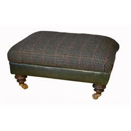 Harris Tweed Taransay Foot Stool