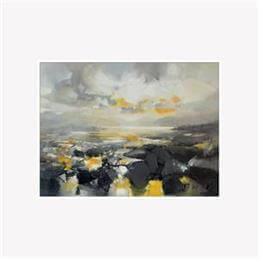 Scott Naismith Matter Framed Canvas Print