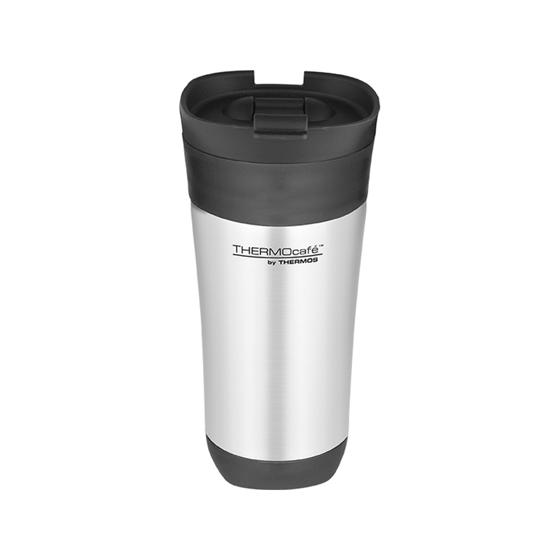 Thermos thermocafe challenger stainless steel flip top for Thermos caffe