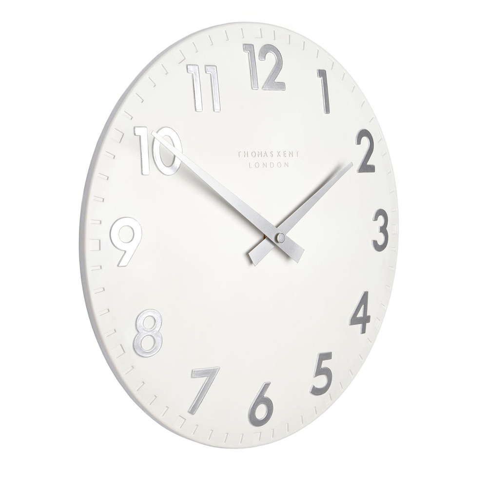 Thomas Kent Camden Clock White Clocks Clocks Jarrolds