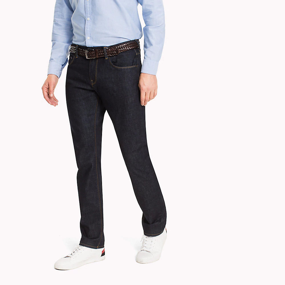 bd340c48 Tommy Hilfiger Denton Core Straight Fit Jeans, New Clean Rinse ...