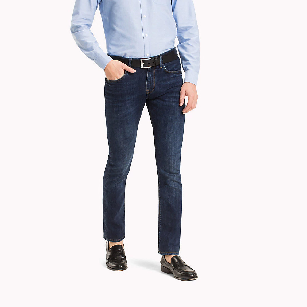 8b1b898e Tommy Hilfiger Core Denton Straight Fit Jeans, New Dark Stone ...