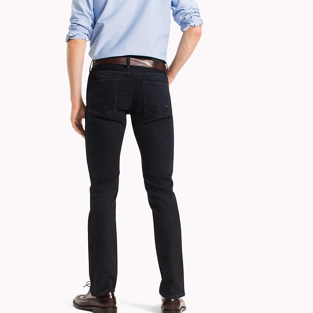 9feea815 Tommy Hilfiger Denton Core Straight Fit Jeans, Blue Black | Jeans ...