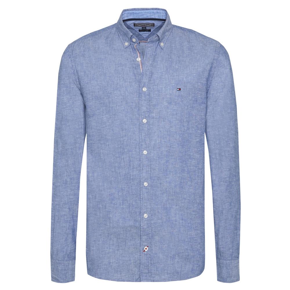 4976d501f Tommy Hilfiger Cotton Linen Shirt   Men's Clearance Shirts & Tops ...