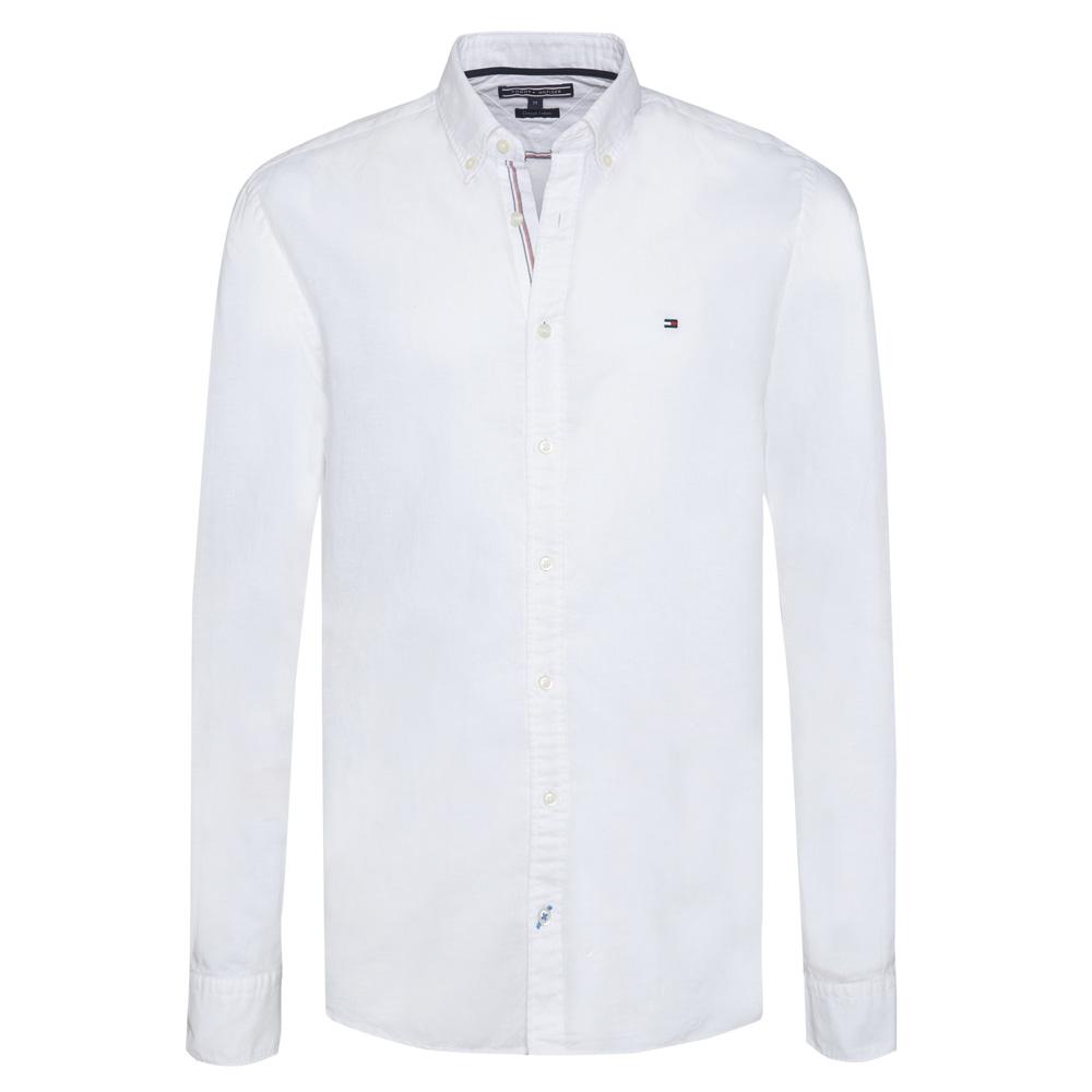 a05ef9f7 Tommy Hilfiger Cotton Linen Shirt | Men's Clearance Shirts & Tops | Men's  Clearance Shirts & Tops | Jarrolds Norwich, Norfolk