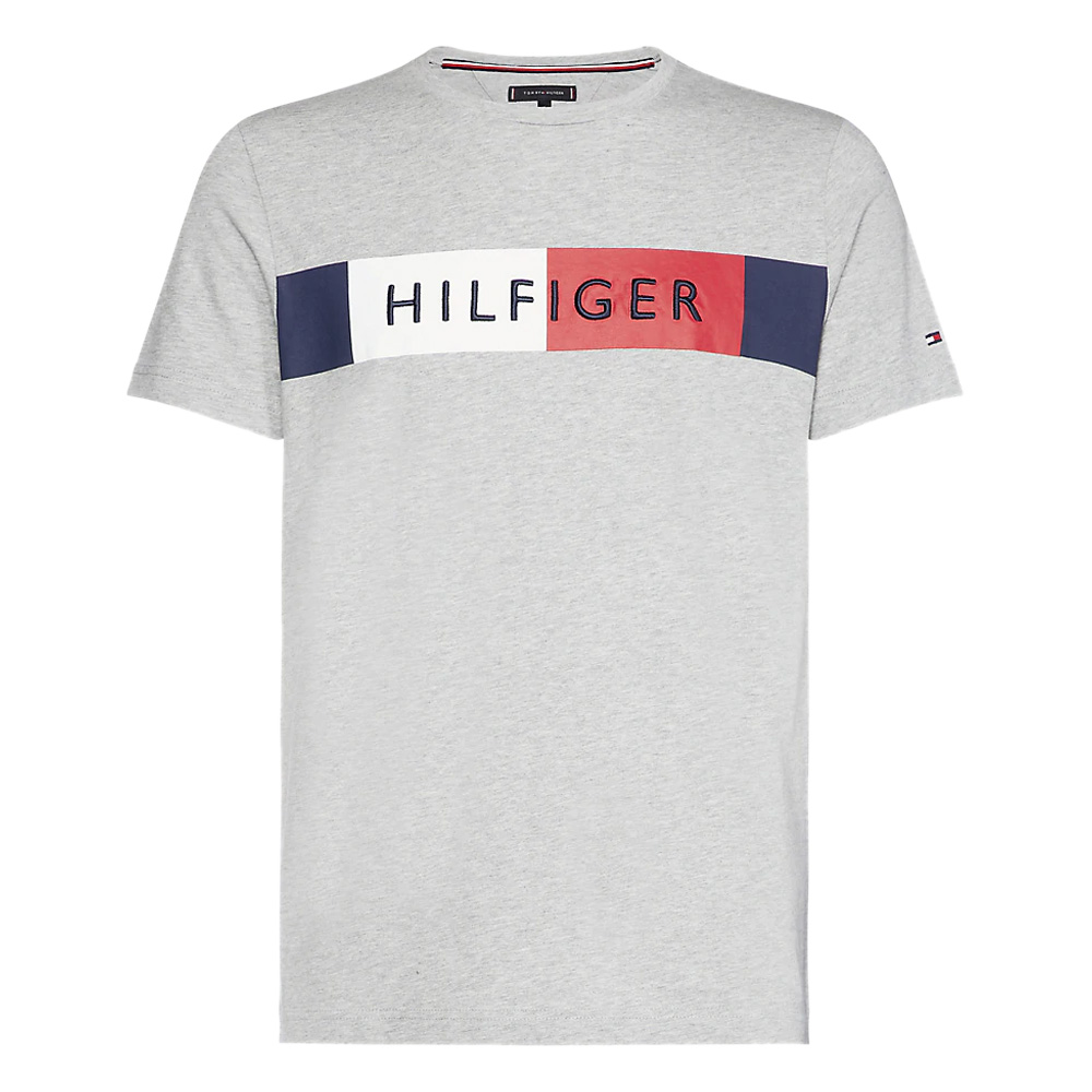 602019f9f Tommy Hilfiger Colour-Blocked Flag T-Shirt | Polos & T-Shirts | Polos & T- Shirts | Jarrolds Norwich, Norfolk