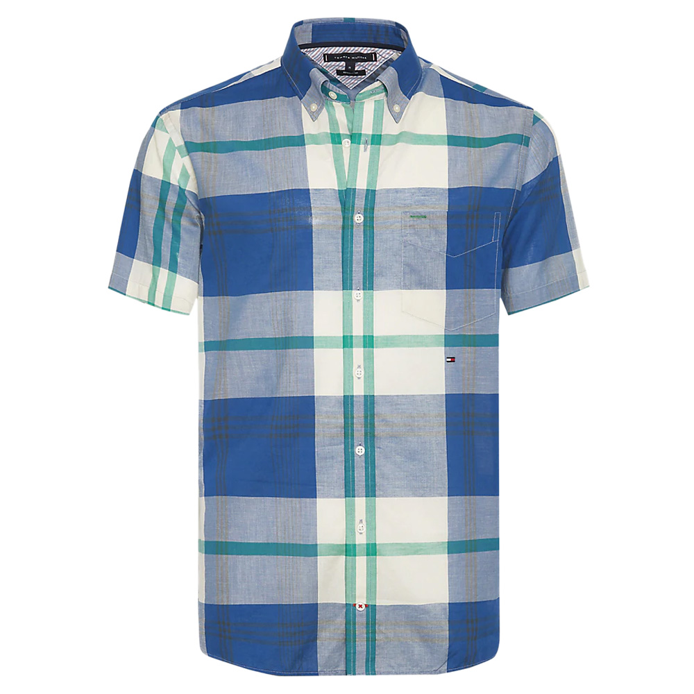 f27ffae11 Tommy Hilfiger Plaid Check Short Sleeve Shirt   Shirts   Shirts   Jarrolds  Norwich, Norfolk