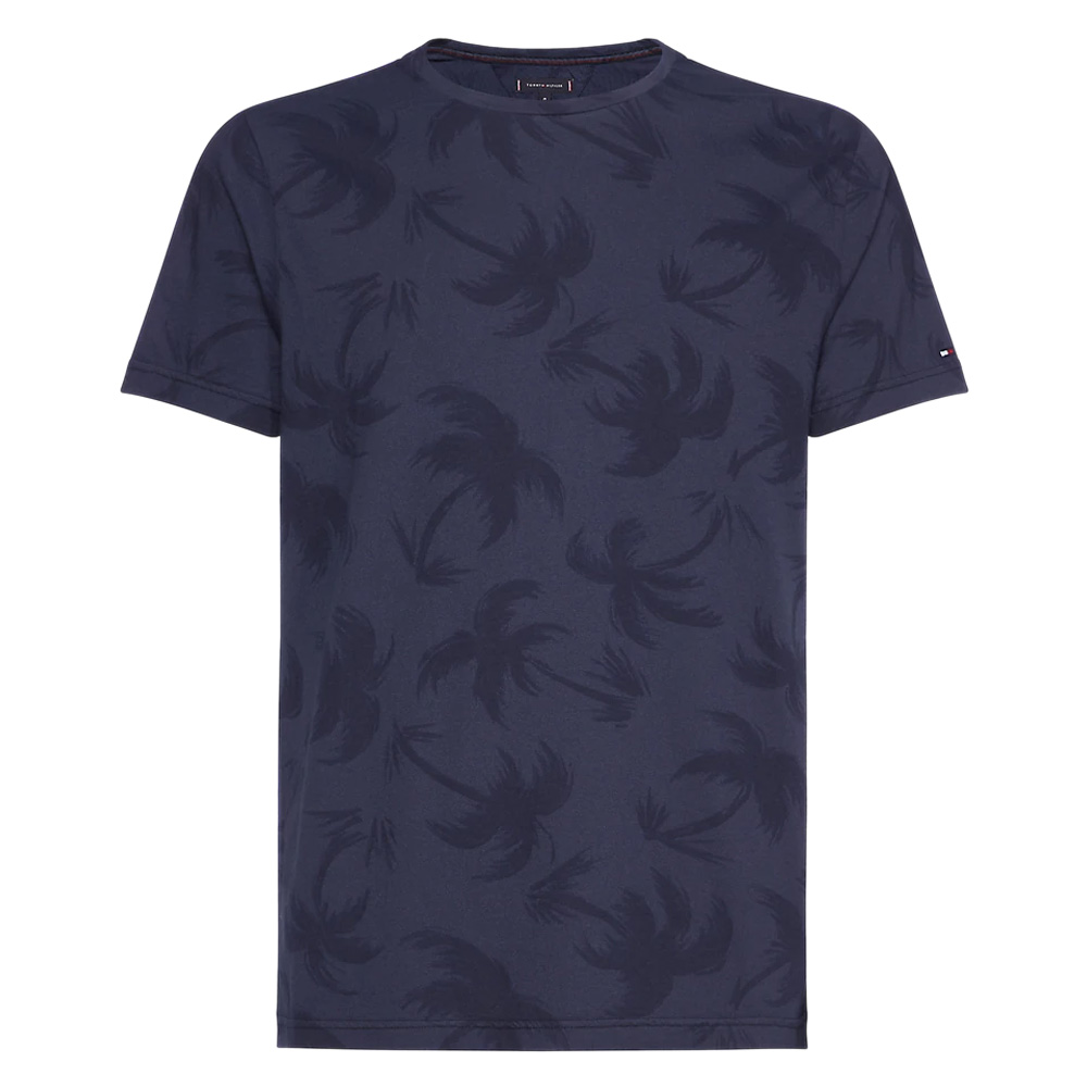 46f5a28e Tommy Hilfiger All-Over Palm Print T-Shirt | Polos & T-Shirts | Polos & T- Shirts | Jarrolds Norwich, Norfolk