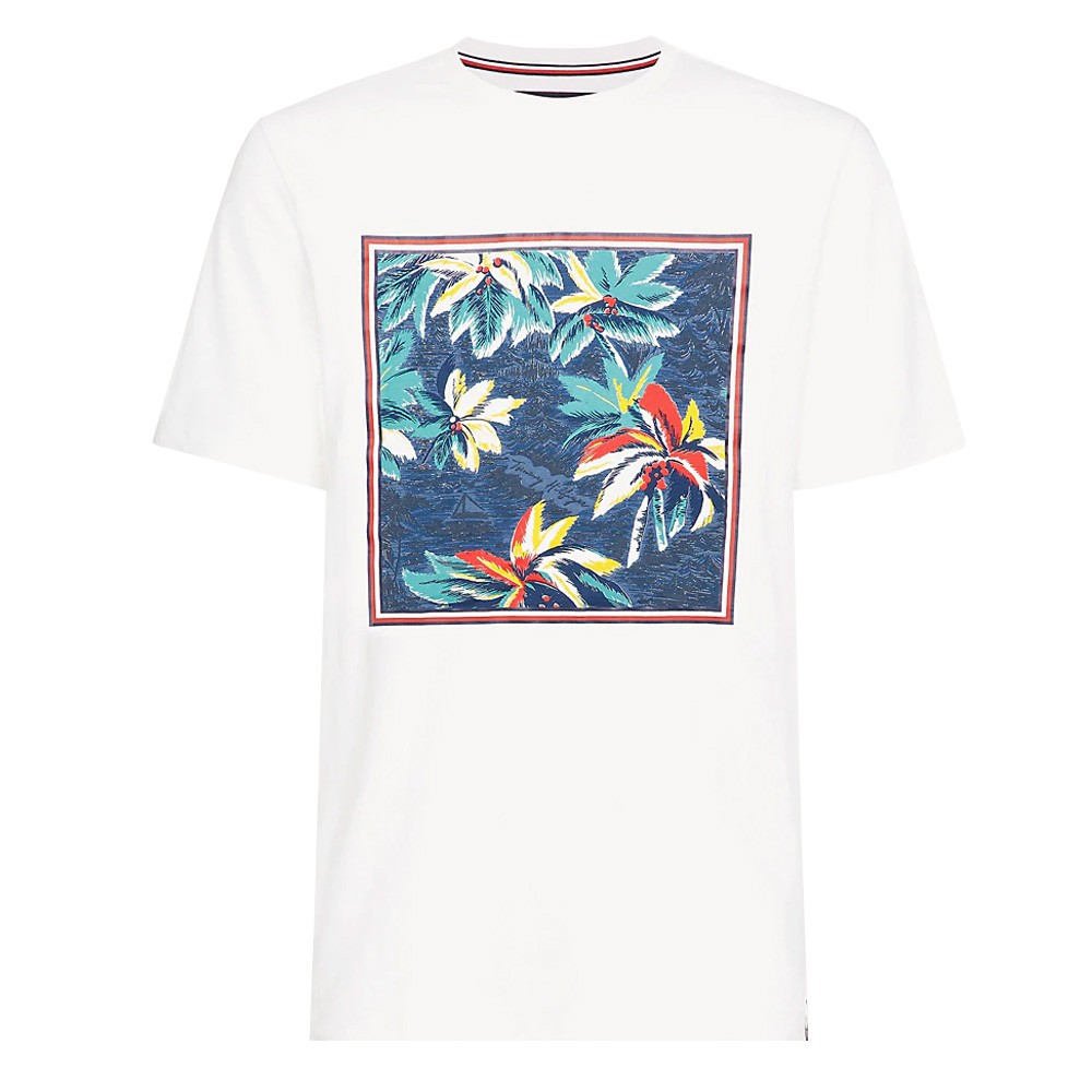 1bfc46d1 Tommy Hilfiger Tropical Palm Relaxed Fit T-Shirt | Polos & T-Shirts | Polos  & T-Shirts | Jarrolds Norwich, Norfolk