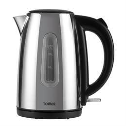 Tower Polished Stainless Steel Kettle