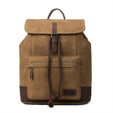 ... Troop London Heritage Canvas Laptop Backpack 7e19c973c579a