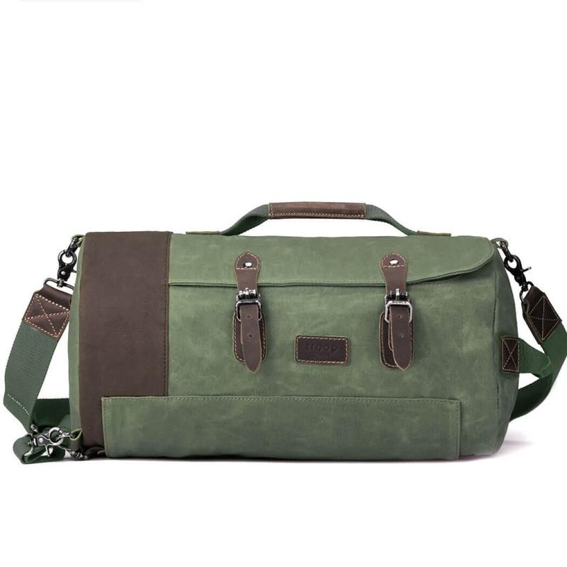 a78676880b25 Troop London Heritage Canvas Weekend Duffle Bag