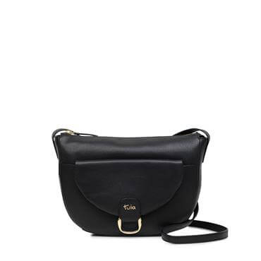 fbd05030f1 Tula Mallory Black Large Flapover Matinee Purse £55.00; Tula Front Tab  Originals Large Zip Top Cross Body Bag