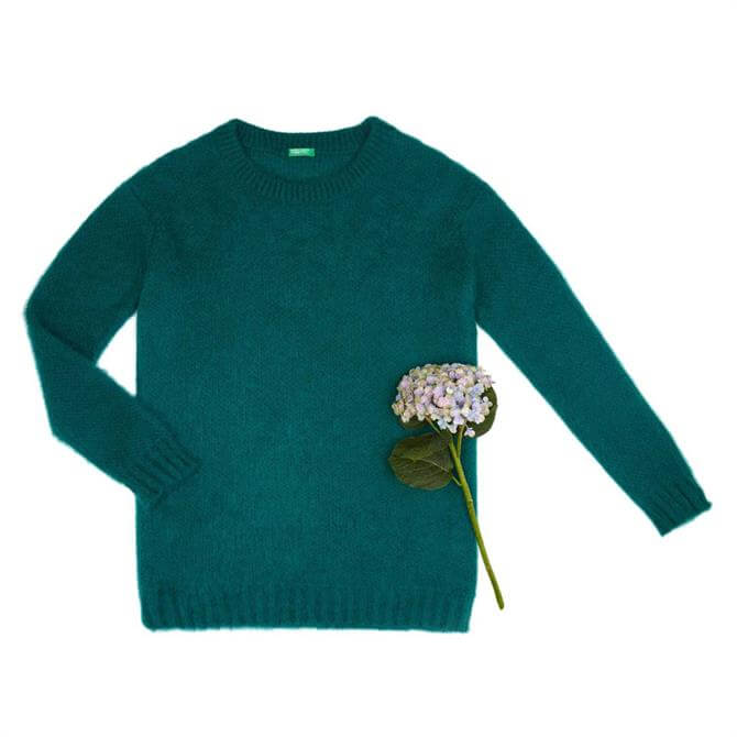 United Colors of Benetton Mohair Blend Sweater