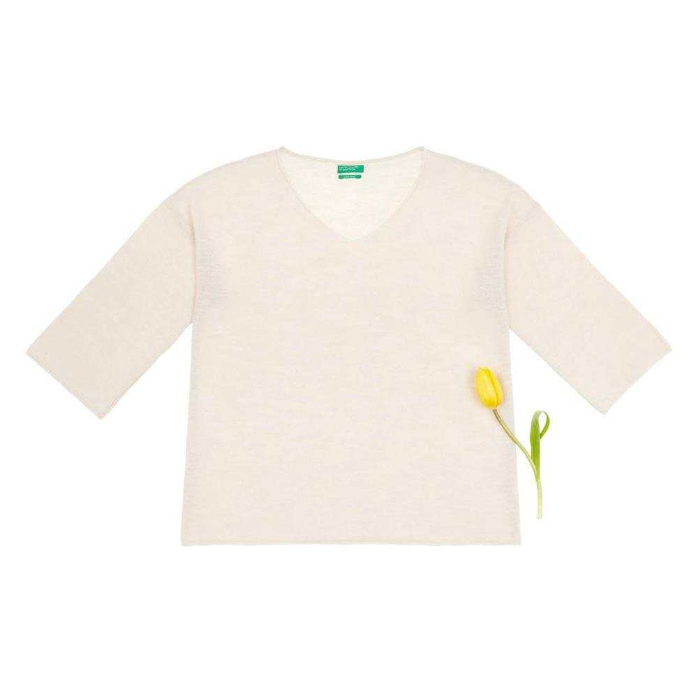 97749edceb7 United Colors of Benetton Cotton Linen Sweater