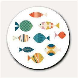 Blanca Gomez Fish Coaster