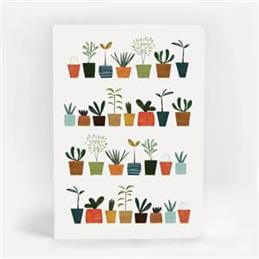 Blanca Gomez Little Plants A5 Notebook