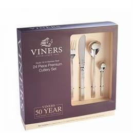 Viners Studio 18/10 Stainless Steel 24 Piece Box