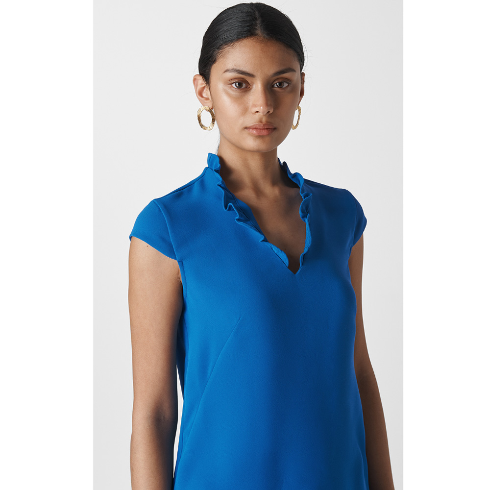 7516aa9eb7 Whistles Federica Crepe Dress