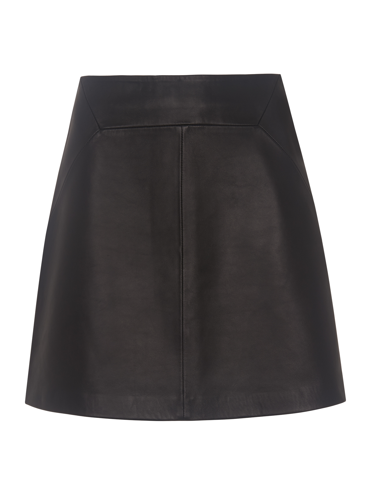 4e2146f5a46 Whistles Leather A Line Skirt