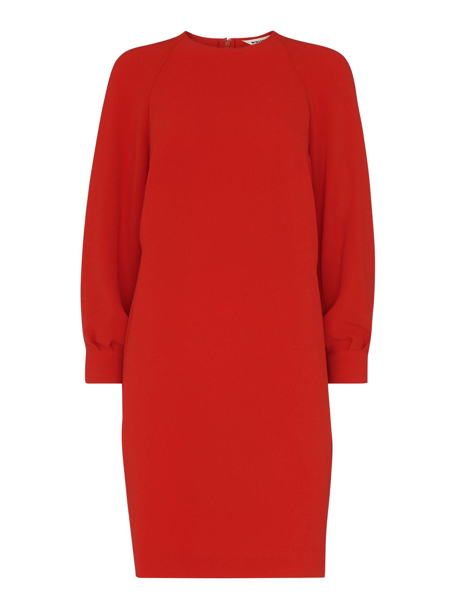 Whistles Tihara Textured Red Dress  85c659d58