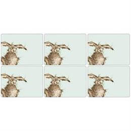 Wrendale Hare-Brained Placemat Set