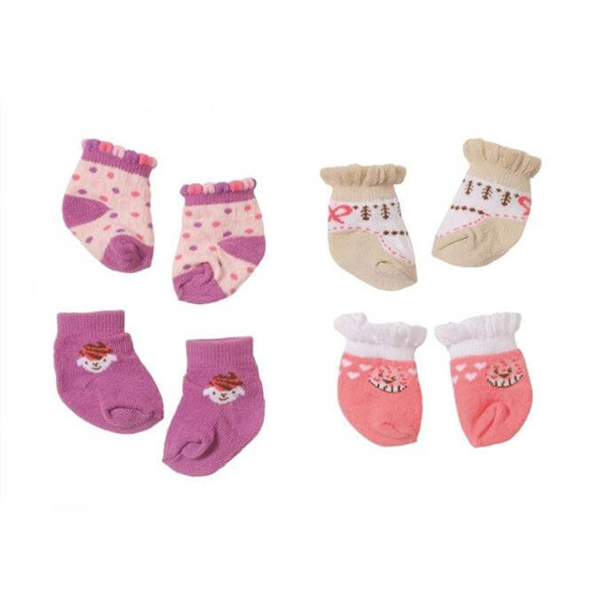Zapf Baby Annabell Socks 2 Pack Assorted