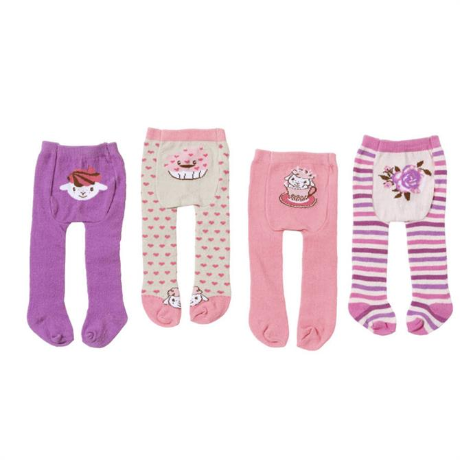 Baby Annabell Tights 2 Pack Assorted