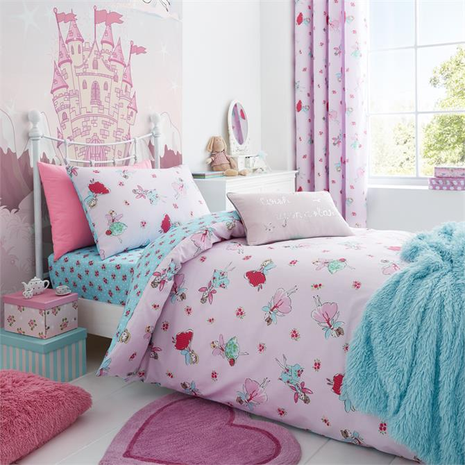 Catherine Lansfield for Kids Fairies Duvet Set