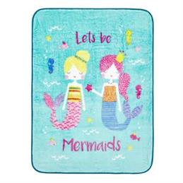 Catherine Lansfield for Kids Mermaids Throw